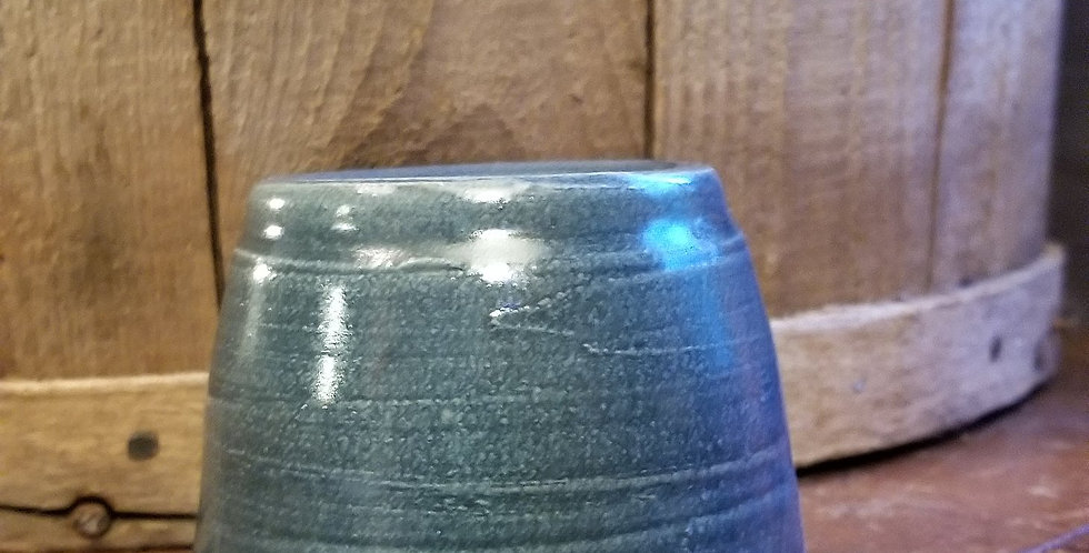 Tart Burner in a Blue-Grey Glaze