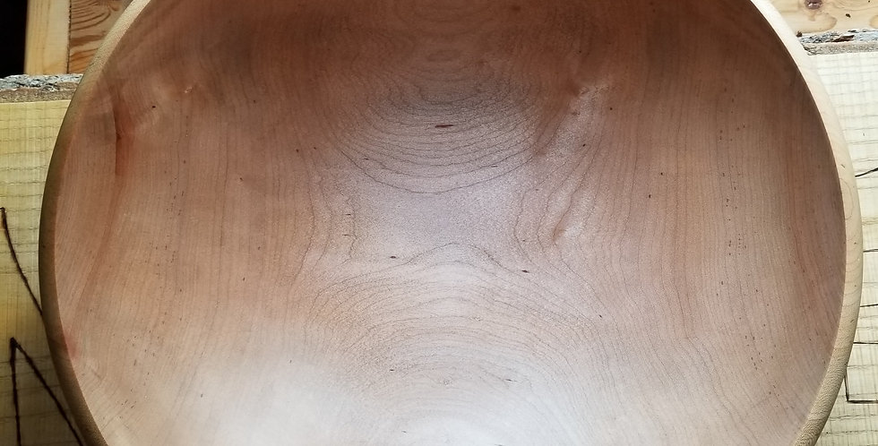 Functional Bowl Hand Turned Maple from Nova Scotia