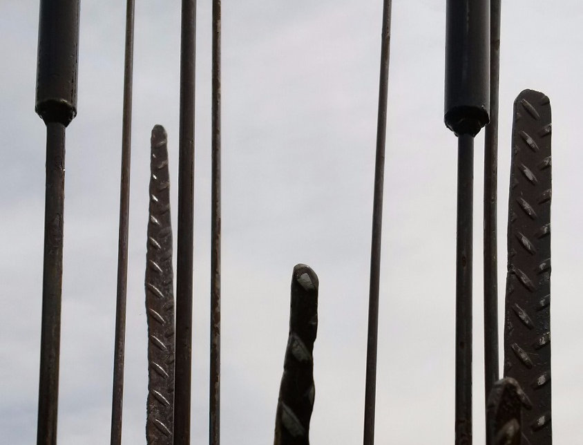 BullRushes made from Metal