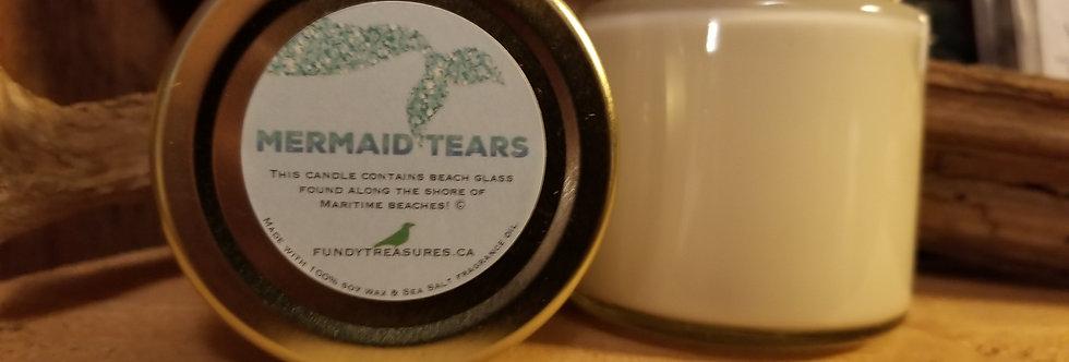 Mermaid Tears - Beach Glass Candle - 3.5 oz
