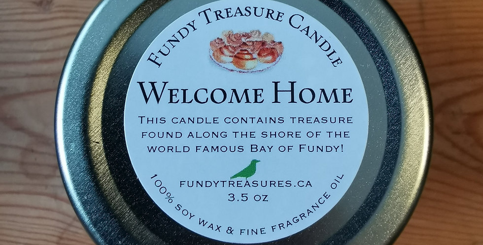 Treasure from the Fundy Candle - 3.5 oz - Scent to be Chosen