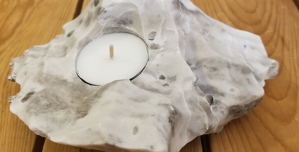 Anhydrite / Gypsum Candle - JS9
