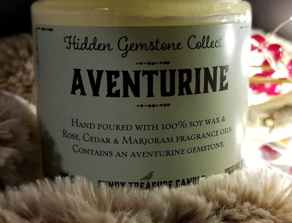 Gemstone Candle - Adventurine
