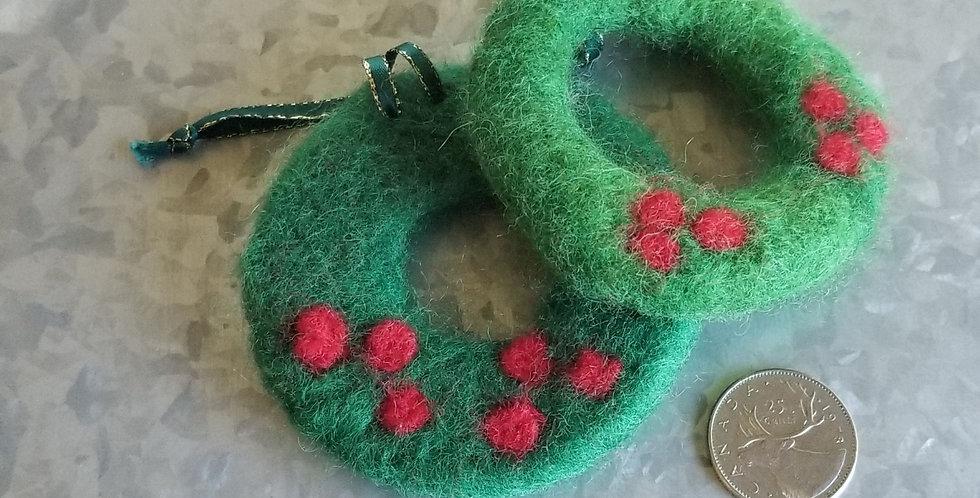 Wreath - Christmas Ornament