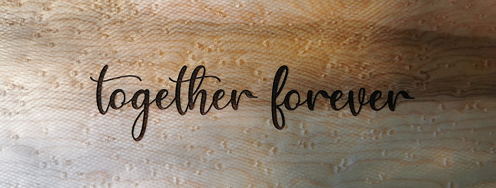 Together Forever Wedding Box