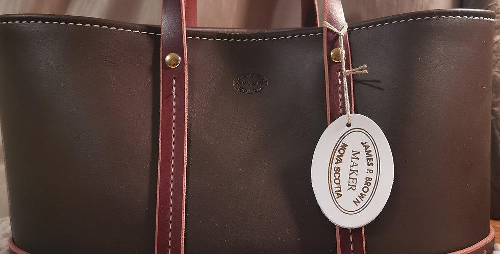 Oval Bucket Bag