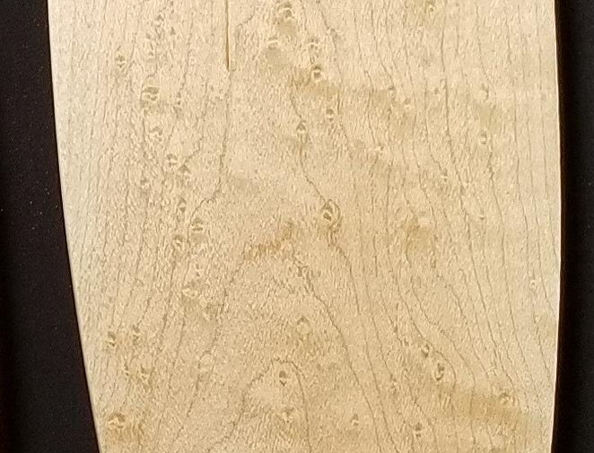 Wooden Cheese Board - Bird's Eye Maple