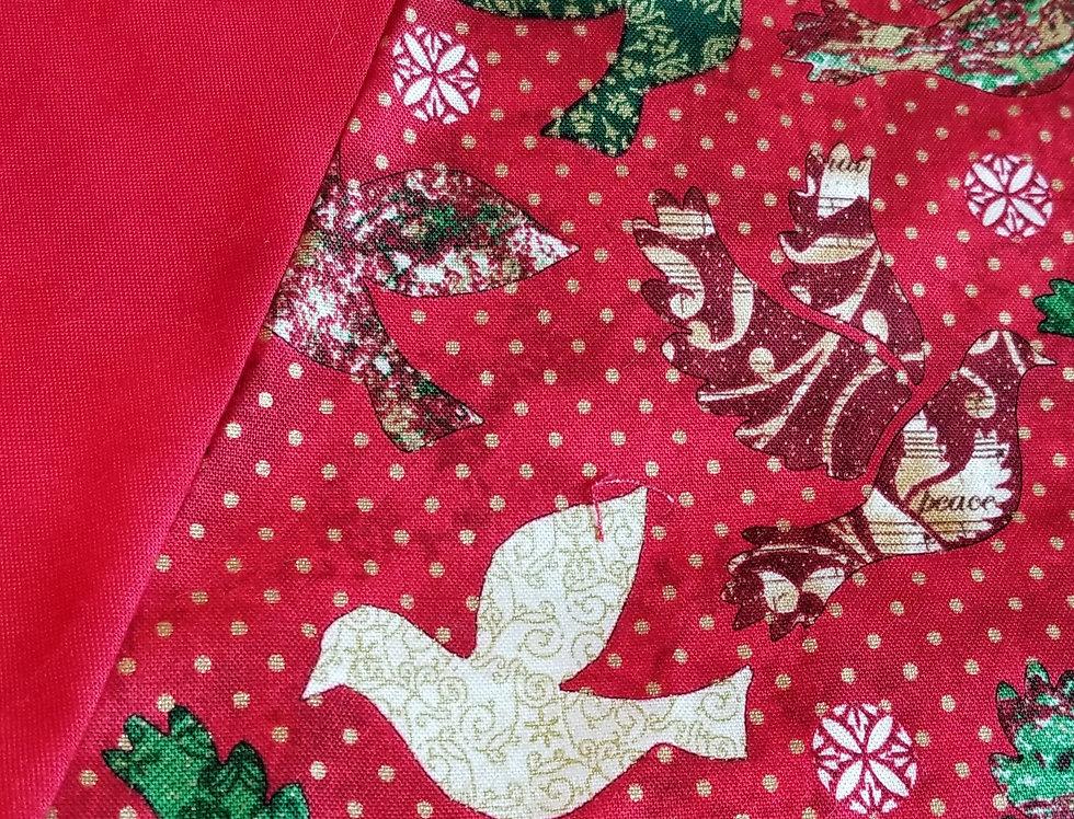 Hand Made Christmas Tree Skirt - Christmas Love
