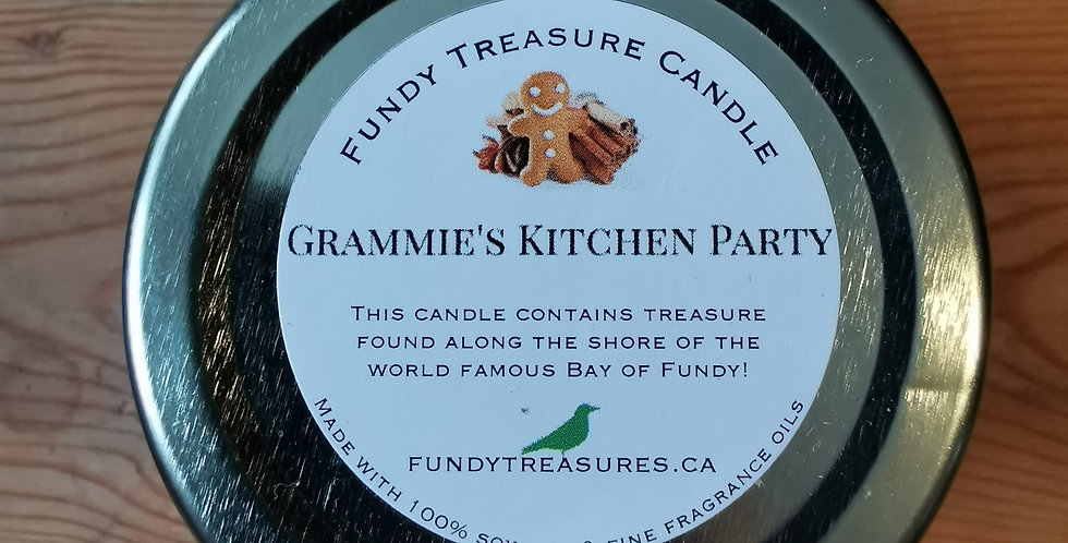 Grammies Kitchen Party - Treasure from the Fundy Candle - 3.5 oz