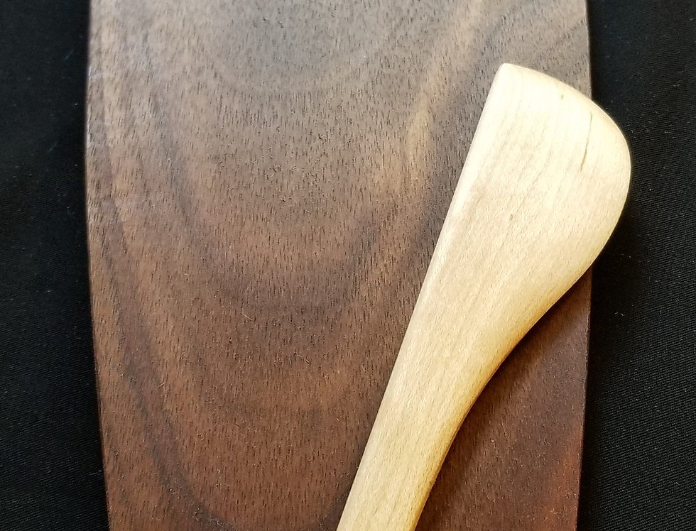 Wooden Cheese Board - Walnut