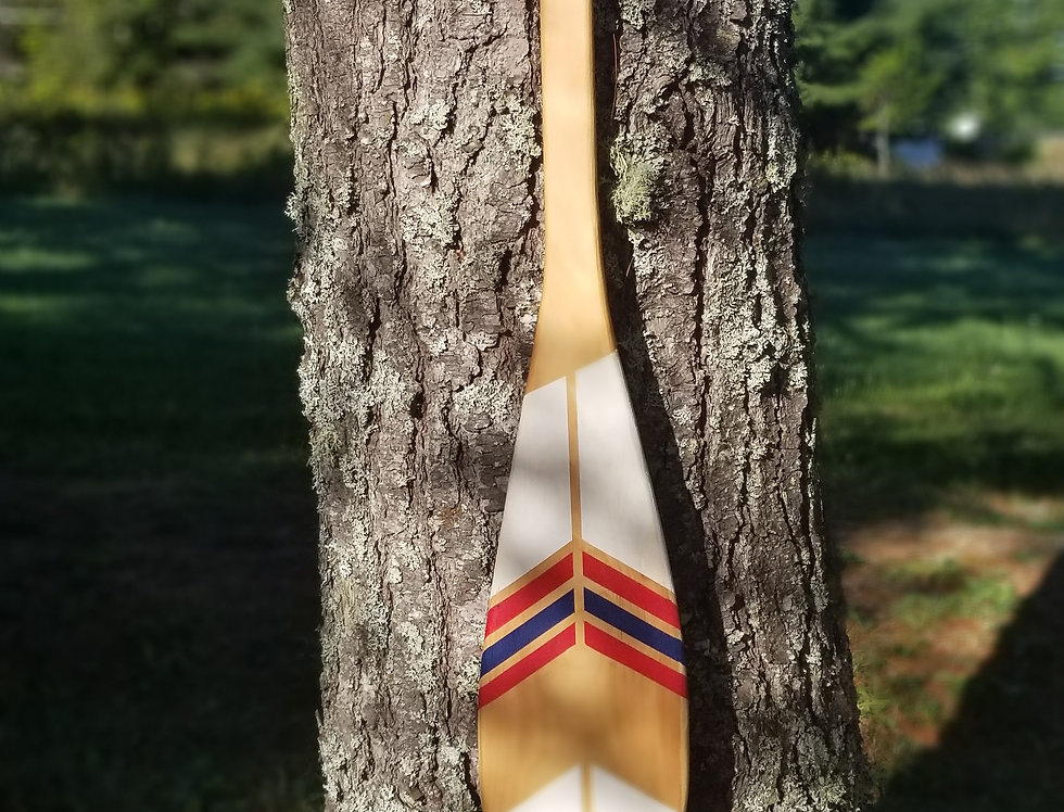 Painted Wooden Paddle - 3ft