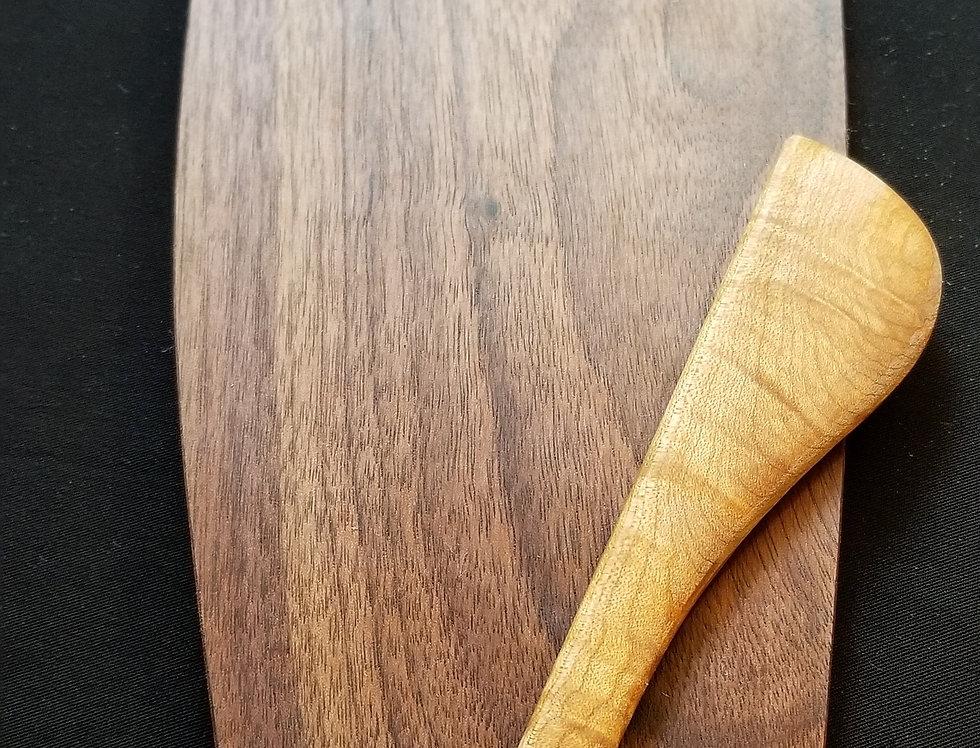 Wooden Cheese Board - Walnut