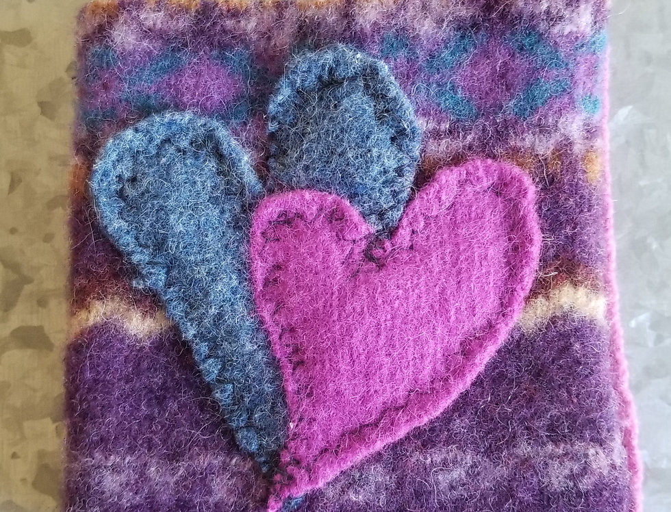 Coffee Cozy - Purple, Pink & Blue