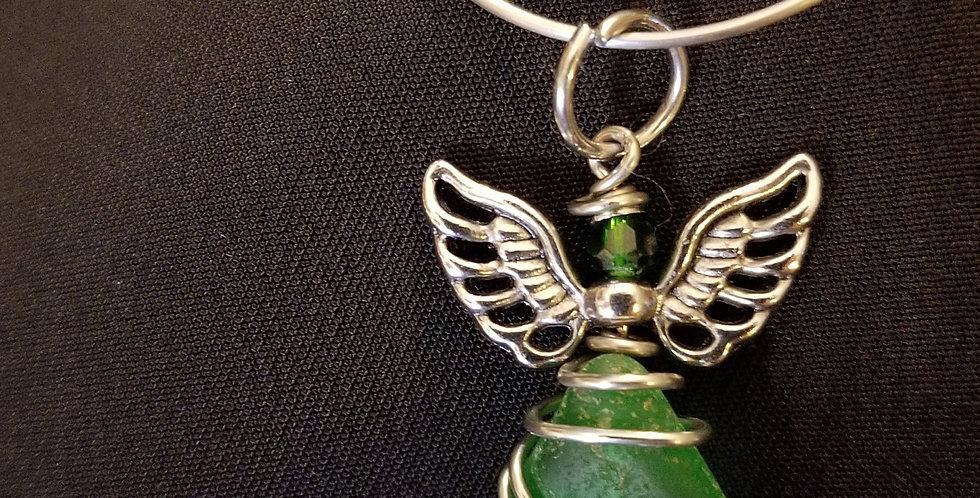 Green Angel Pendant