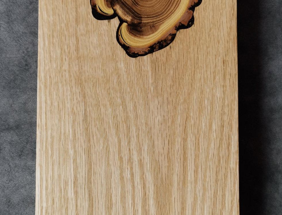 Charcuterie Board - Oak with inlaid Black Locust