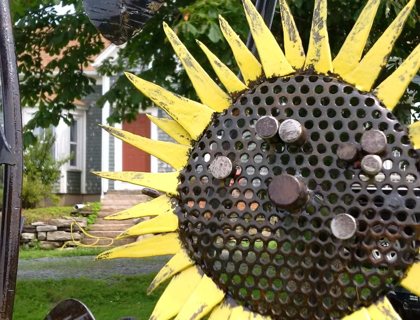 Sunflowers from Metal