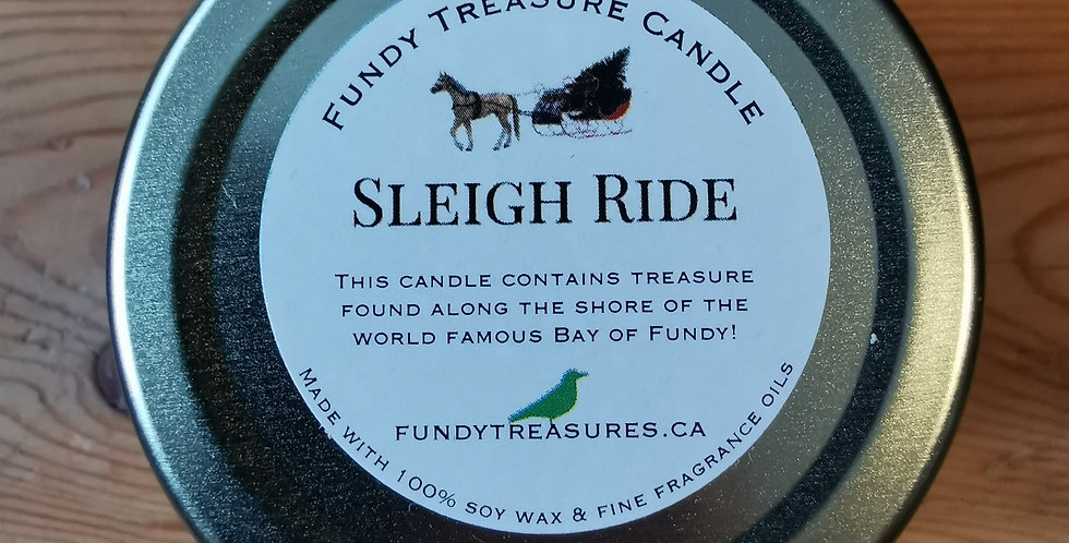Sleigh Ride - Treasure from the Fundy Candle - 3.5 oz