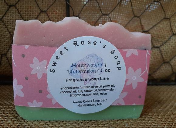 Mouthwatering Watermelon Soap 4.5 oz