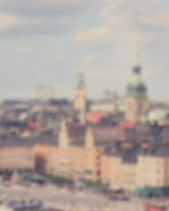 Stockholm, the main site of this digital case study on ERP selection