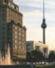 Berlin buildings - the setting for this Robotic Process Automation case study.