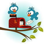24441086-birds-and-mailbox-with-mail-vec