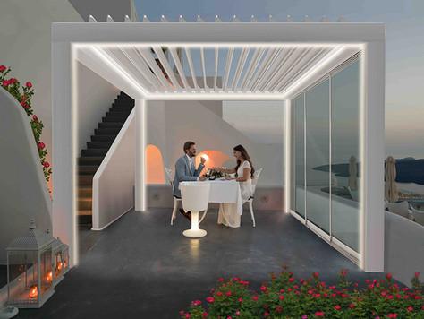 PERGOSPACE - Novità per chi desidera creare un nuovo ambiente all'aria aperta.