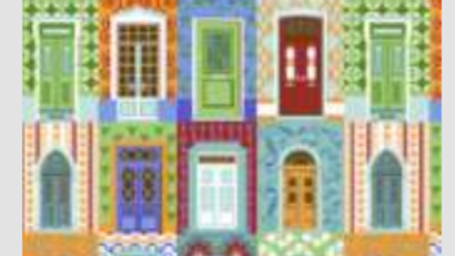 Tecido multi color (feitio de portas) ref:202064c01