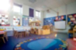Commercial Floor cleaning, nursery