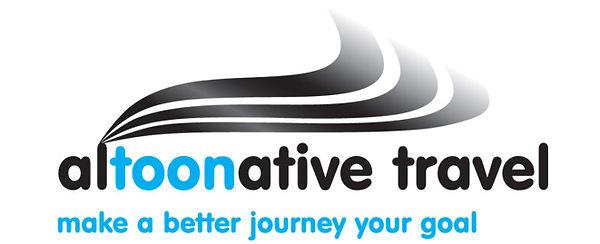 Altoonative Travel Logo Design