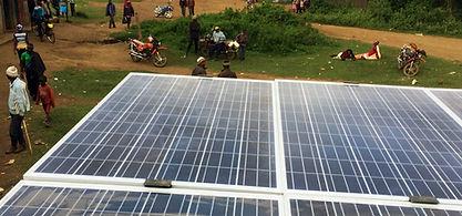 African Village Solar Panels