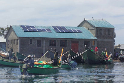 Africa Solar Panels River