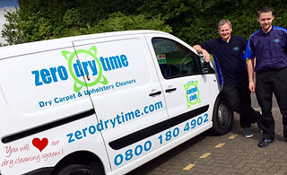 Professional dry carpet cleaning services in Kent