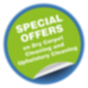 Special offers on Dry Carpet Cleaning and Upholstery Cleaning