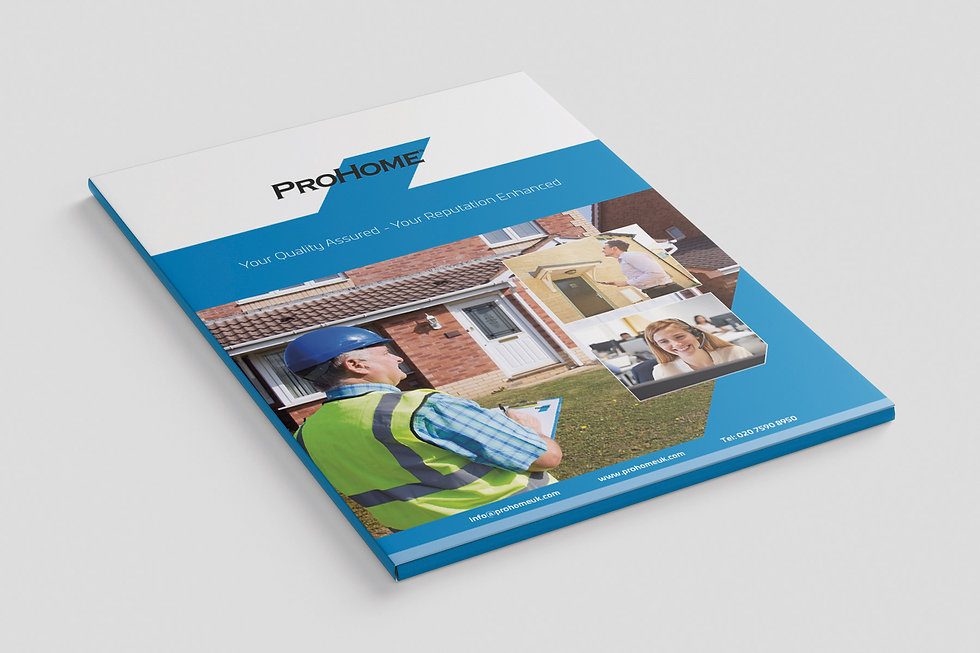 Brochure and Folder Design - ProHome
