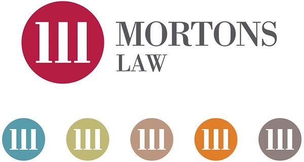 Mortons Solicitors Branding Logo Design