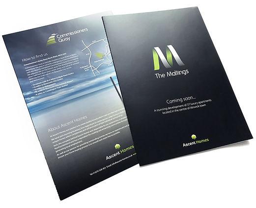 Ascent Homes Marketing Materials Brochure Design