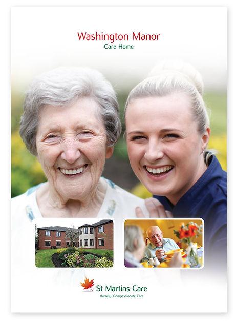 St Martins Care Brochure Design
