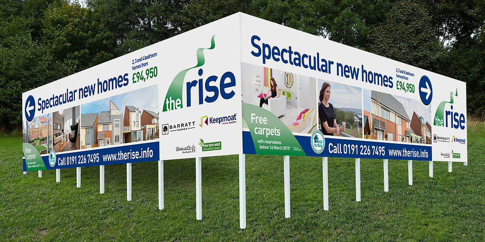 The Rise 96 Sheet Poster Outdoor Advertising