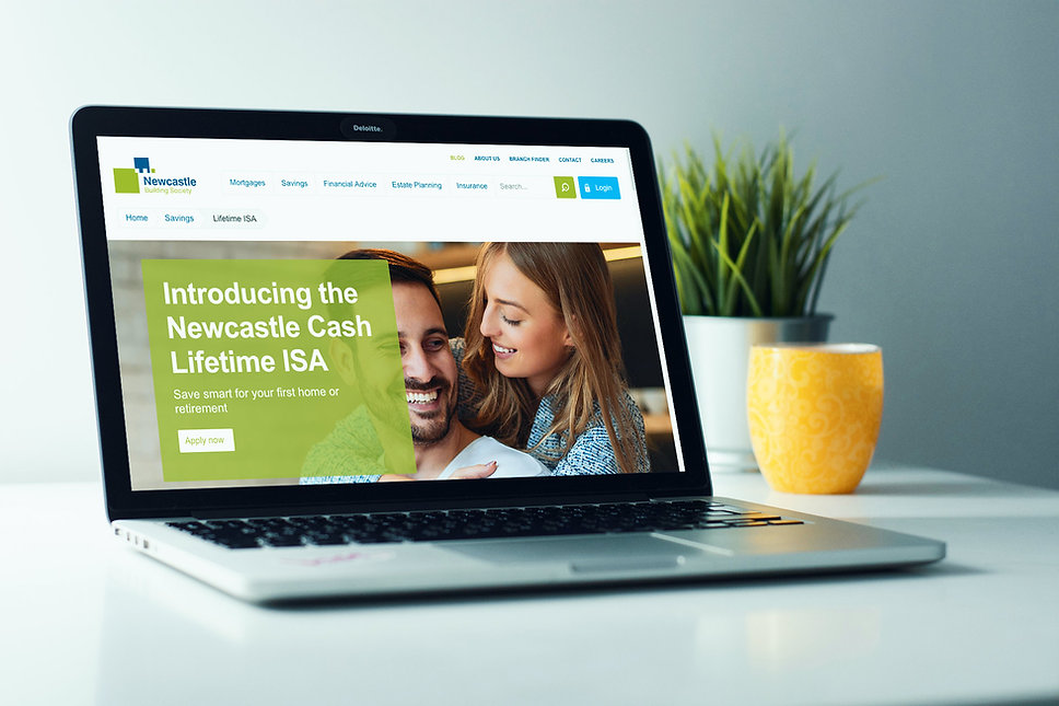 Copywriting Services for Newcastle Building Society
