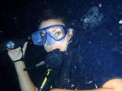Night dive cancun,scuba cancun ,dive