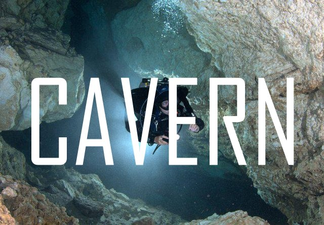 CAVERN dive cancun,cancun scuba