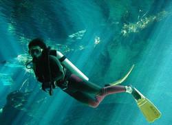 cenotes,scuba cancun,scuba total