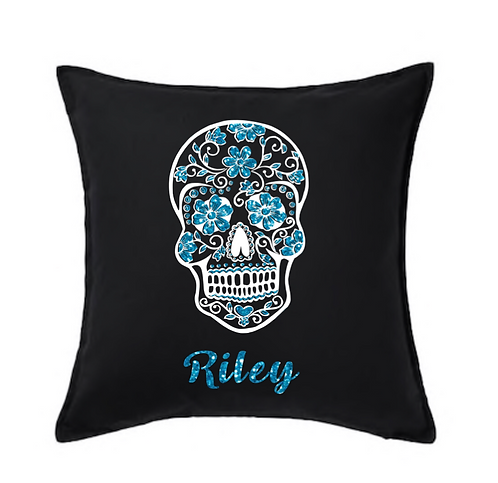 Day of The Dead Cushion Cover,