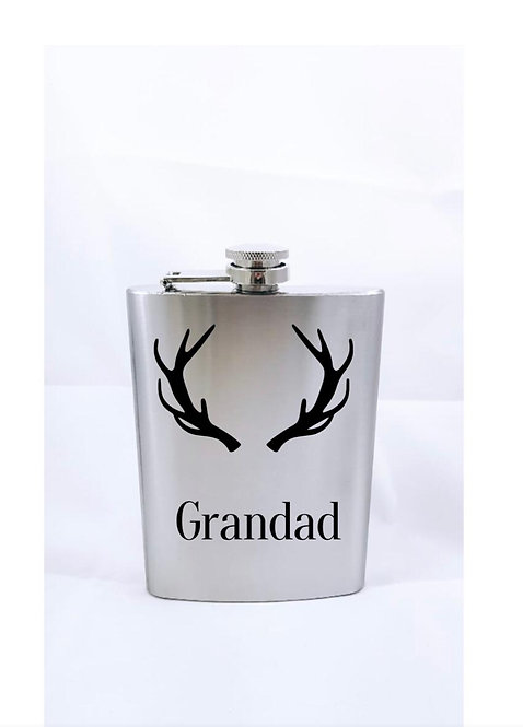 Hip Flask, Personalised gifts for men, for him, weston super mare gift shop, handmade businesses