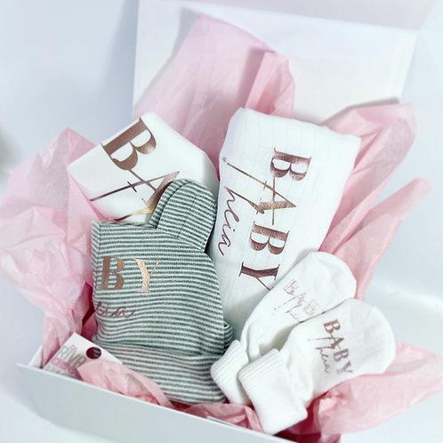 Baby Filled Keepsake Box Gift, Personalised