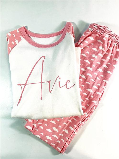 Girls Pjs, Pyjama Set