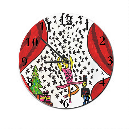 Clock - Personalised Drawing, SAGF19
