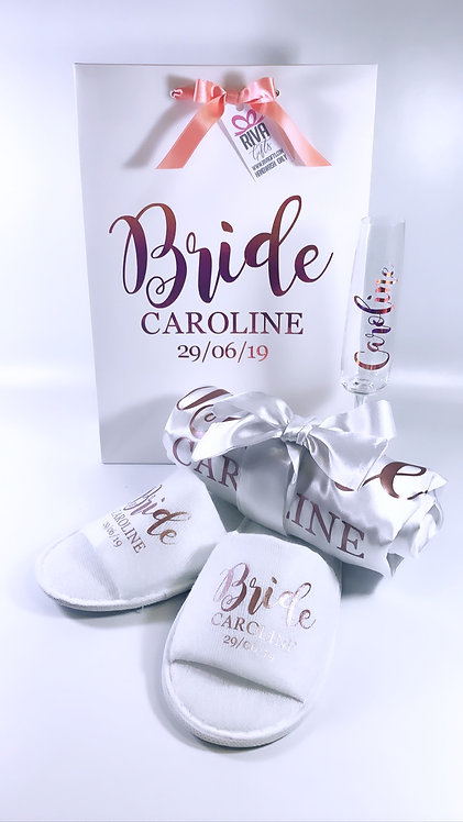 Luxury bride gift, Weston super mare from Riva gifts