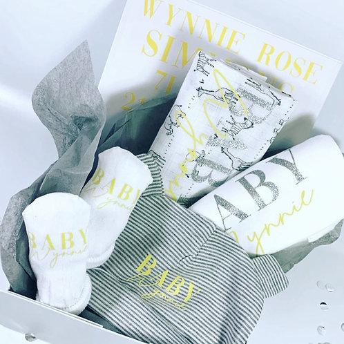 New Baby Filled Keepsake Box Gift