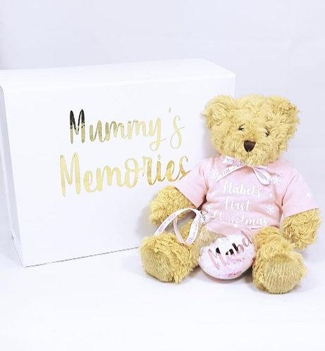 Teddy 30cm, Personalised, Baby Gift